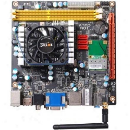 Zotac Ionitx-p-e Intel Celeron Su2300 Wifi Mini-itx Motherboard
