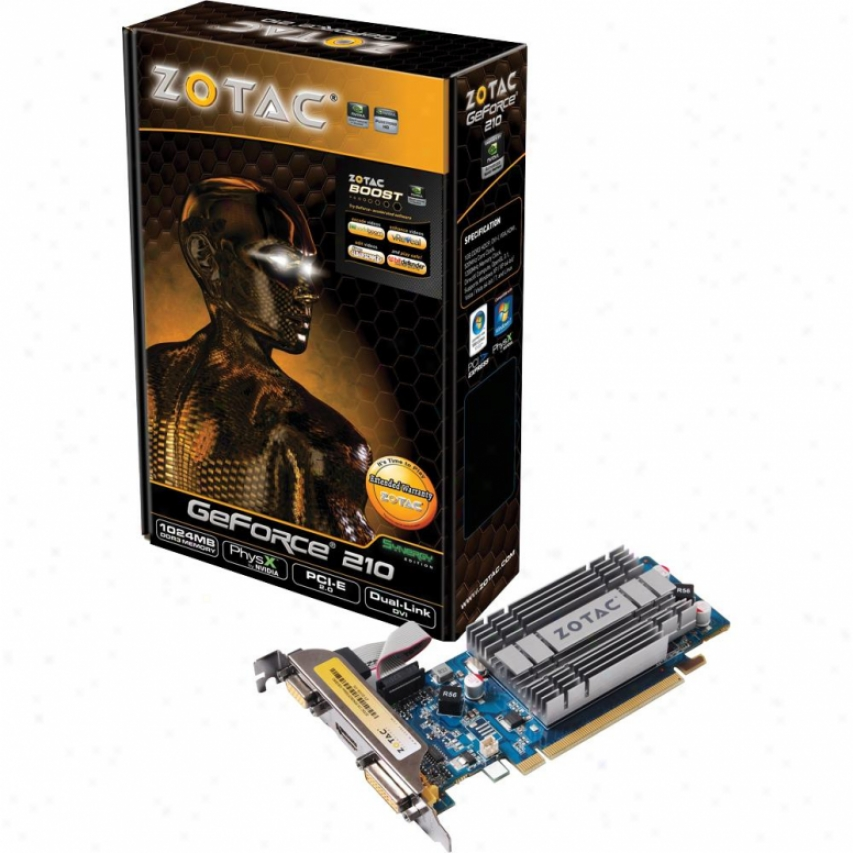 Zotac Synergy Geforce 210 Video Card
