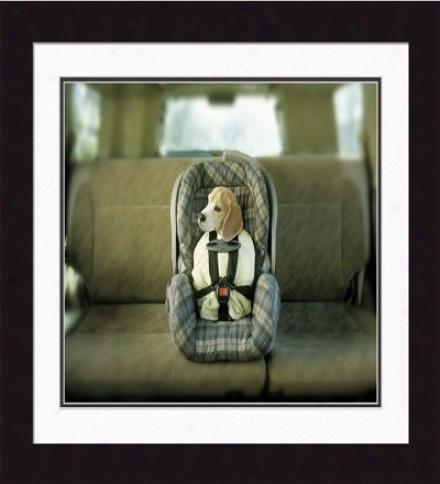 'babie, The Depart hurriedly Of Joy' Framed Print