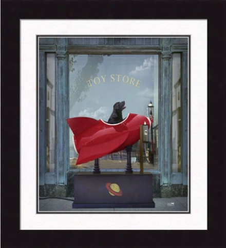'comet, The Dreamer' Framed Print