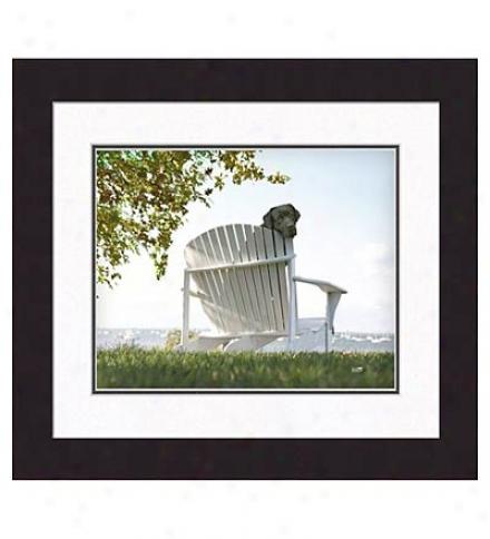 'lolly' Framed Print
