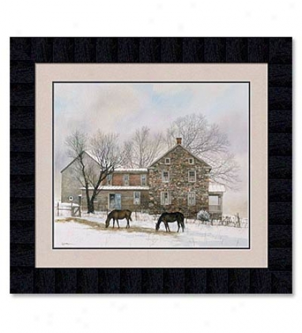 'winterr's Duration'  Print By Peter Sculthorpe