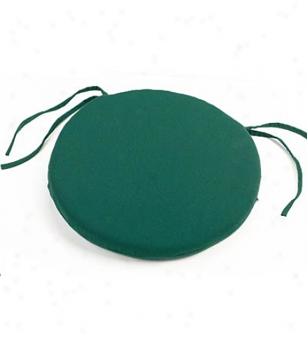 "16"" Uv-protected Classic Round Chair Cushion"