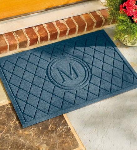 """22-1/2""""w X 35-1/4""""l Initial Waterhog™ Mat"""