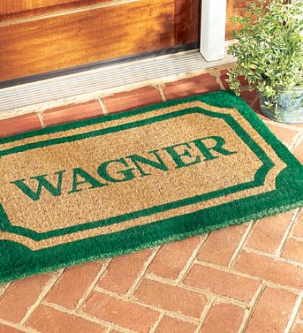 "24"" X 39"" Personalized Doormat"