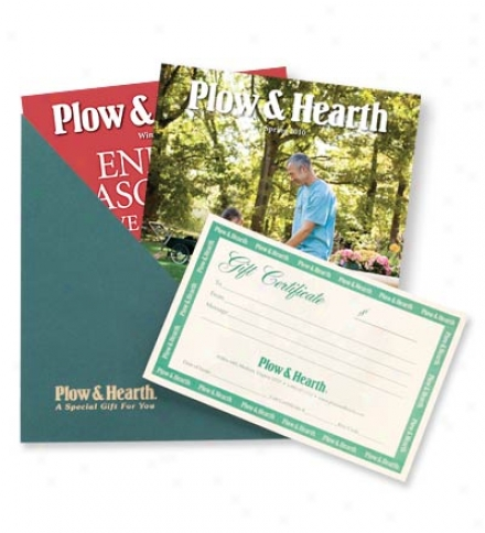$25 Plow & Hearth Gift Certificate