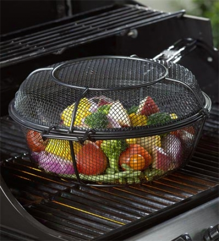 3-in-1 Mesh Skillet, Deep Basket And Grill Basket