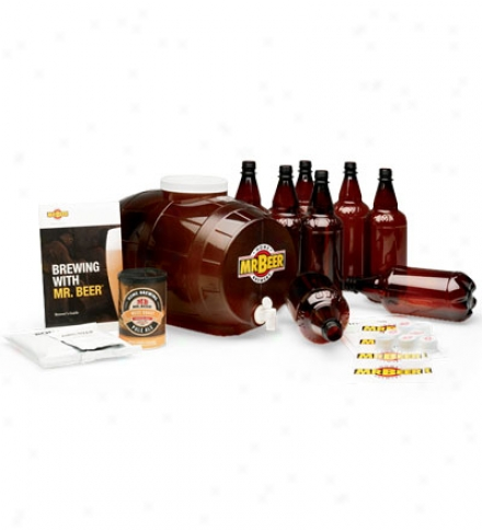 3-pack Americana Refill For Homemade Beer Brewing Mr. Beer® Brew Kit