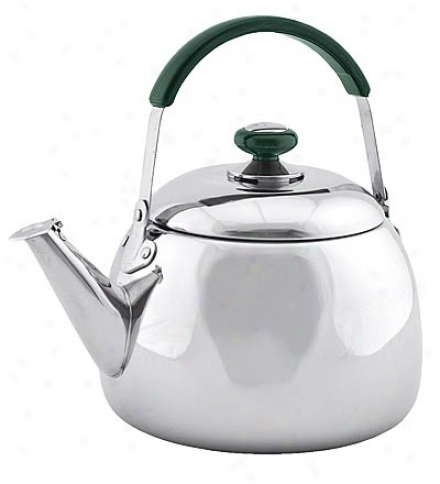 4-quart Stainless Steel Kettle With Safe Heavy-gauge Bottom