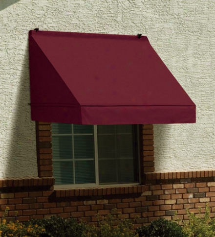 4' Mold- And Fade-resistant Acrylic Canvas Awning For Doors And Windows