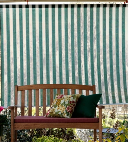 4' X 6' All-weather Roll-up Breathable Window Shadebuy 2 Or More At $29.95 Each