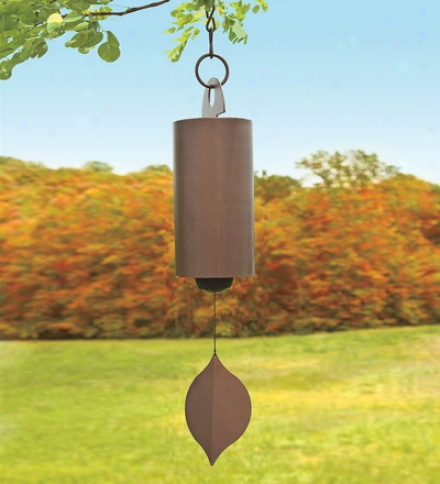 "40"" Copper Powder-coated Steel Heroic Windbell"