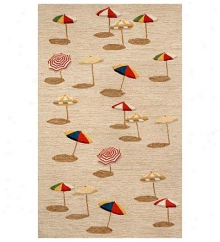 "42"" X 66"" Beach Umbrella Rug"