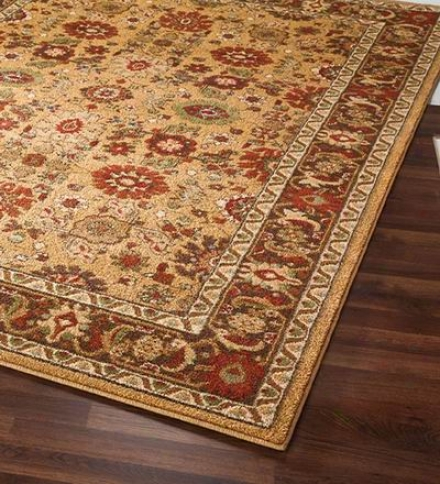"5'3"" X 7'6"" Stain-resistant Polypropylene Pera Rug"