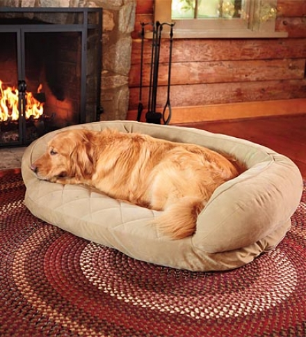 """50""""l X 54""""w Quilted Poly And Fleece Pet Throw"""