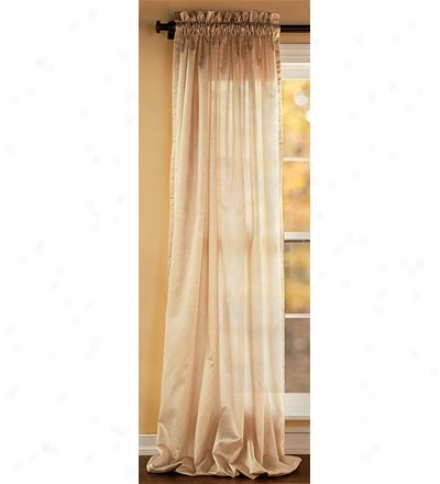 "52""w X 63""l Washable Faux Silk Pabela Hang Pair Ways"