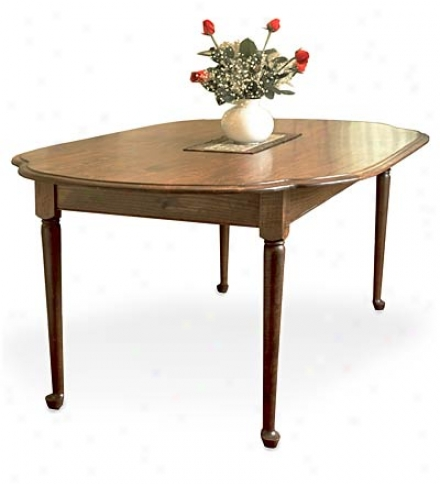 6' Oval Dining Table