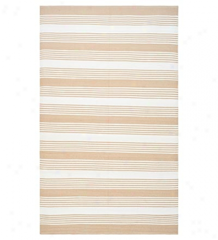 6' X 9' Striped Recycled Plastic Bottles Indoor/outdoor Rug