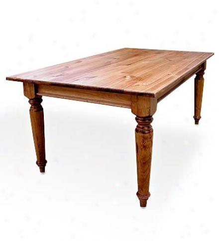 7' Pank Top Farmhouse Table