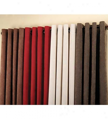 """72"""" X 14"""" Plush Polyester Chenille Valance With 2"""" Header And 3"""" Rod Pocket"""