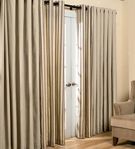 "72""l Thermalogic??? Force Efficient Insulated Solid Grommet-top Curtain Pair"