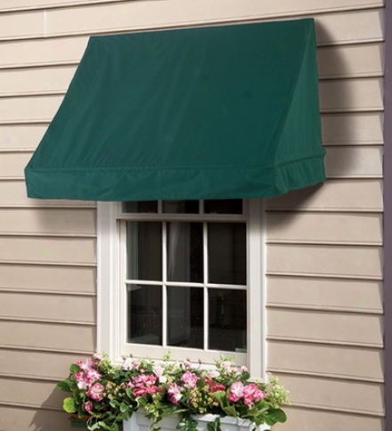 8' Scalloped Edge Window And Door Awning