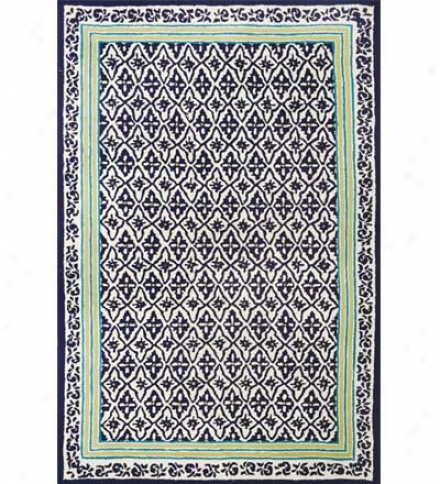 8' X 10' Duracord?? Outdoor Cabana Row Rug