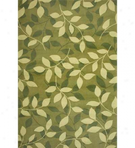8' X 10' Duracord?? Outdoor Divine Leaf Rug