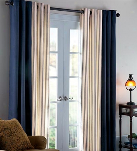 "84""ll Thermalogic??? Energy Able Insulated Solid Tab-top Curtain Pair"
