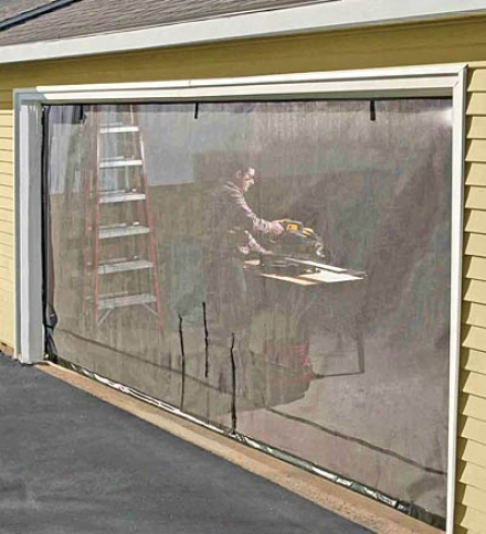 9&#O39;w X 7'h Garage Screen