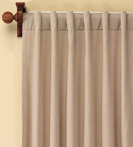 "96""l Energy-efficient, Draft Blocking Homsepun Double-lined Curtain Panelbuy 2 Or More At $59.95 Each"