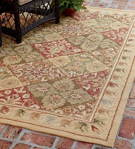 9' X 12' Indoor/outdoor Easy Care Polypropylene Rug