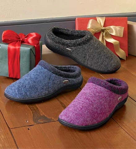 Acorn&aml;#174; Non-slip Weatherproof Mule Slippers Fr Women