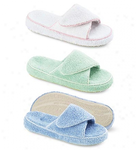 Acorn® Cotton Terry Slides