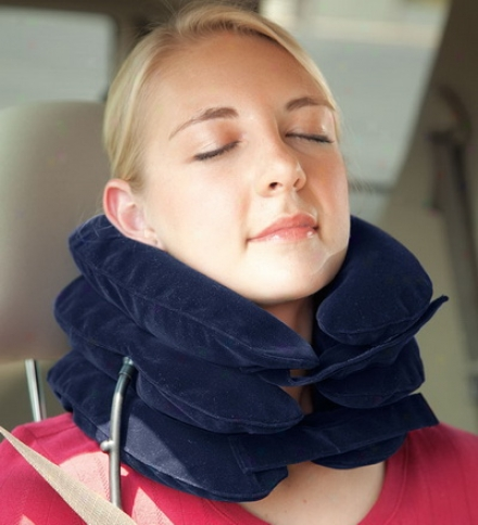 Adjustable Inflatable Travel Pillow