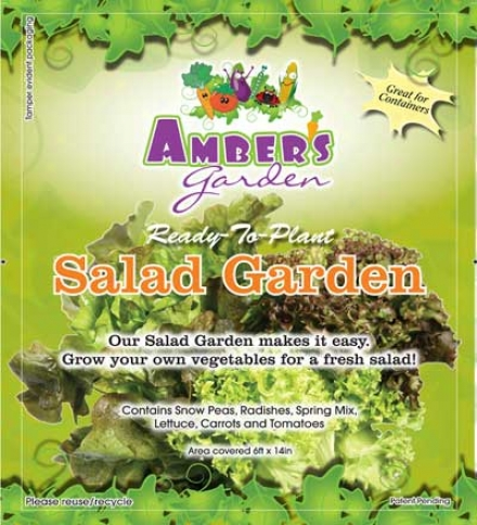 Ambers Garden Easy Salad Garden Kit