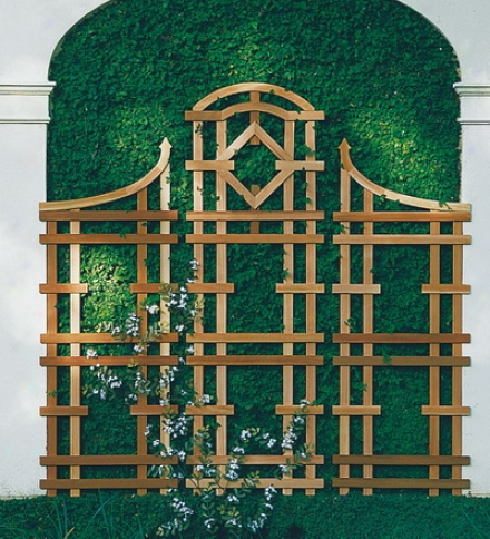 American-made Cedar Garden Trellis In Natural