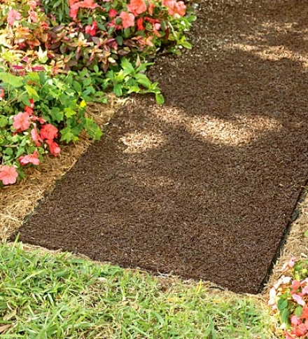 American-made Environmentally Friendly Perma Mulch Pathway