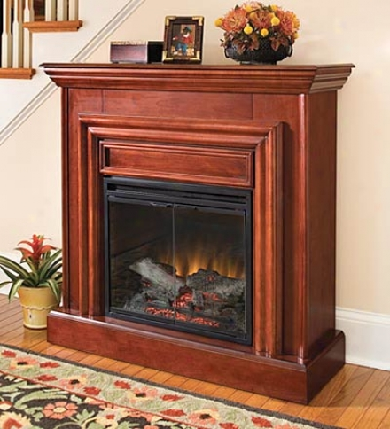 Amherst Electric Fireplaceoak Only