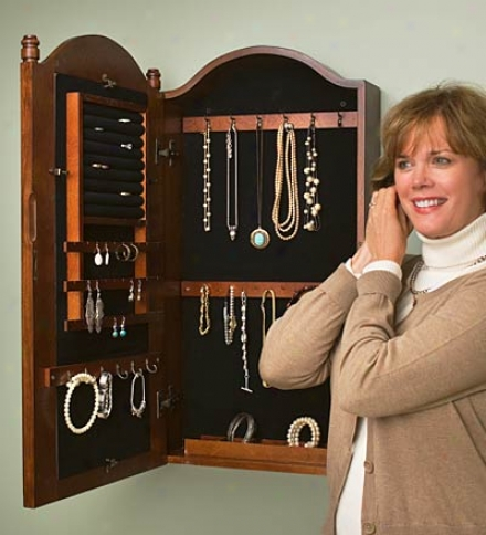 Spindle Jewels Armoire