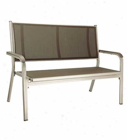 Baeic Plus Aluminum Frame Bench With Sling Seat
