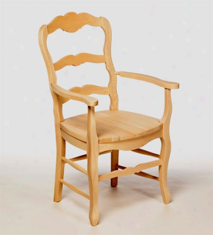 Beech Wood French Country Side Chair
