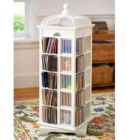 Bird Cage Cd Storage