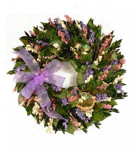Bird's Nest 18-inch Garland