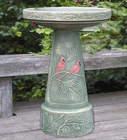 Birdbath, 2-piece Set