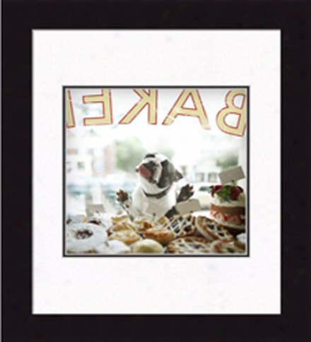Biscuit, The Cream Puff??? Framed Print