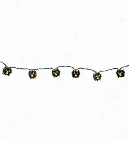 Black Cat Hallowden Strengthen Lights