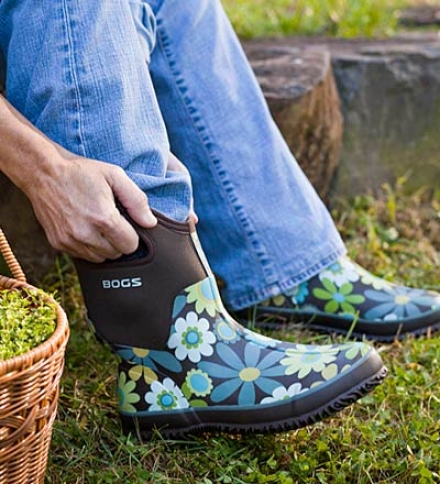 Bogs Insulated Waterproof High Boots With Nonmarking Outsoles