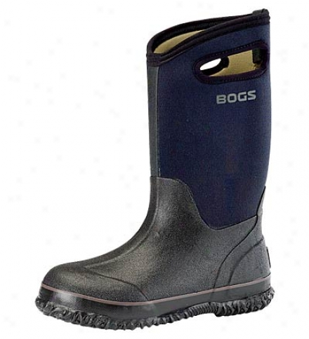 Bogs#174; Classic Handled Kids' Black High Boots