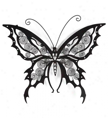 Butterfly Iron Wall Art